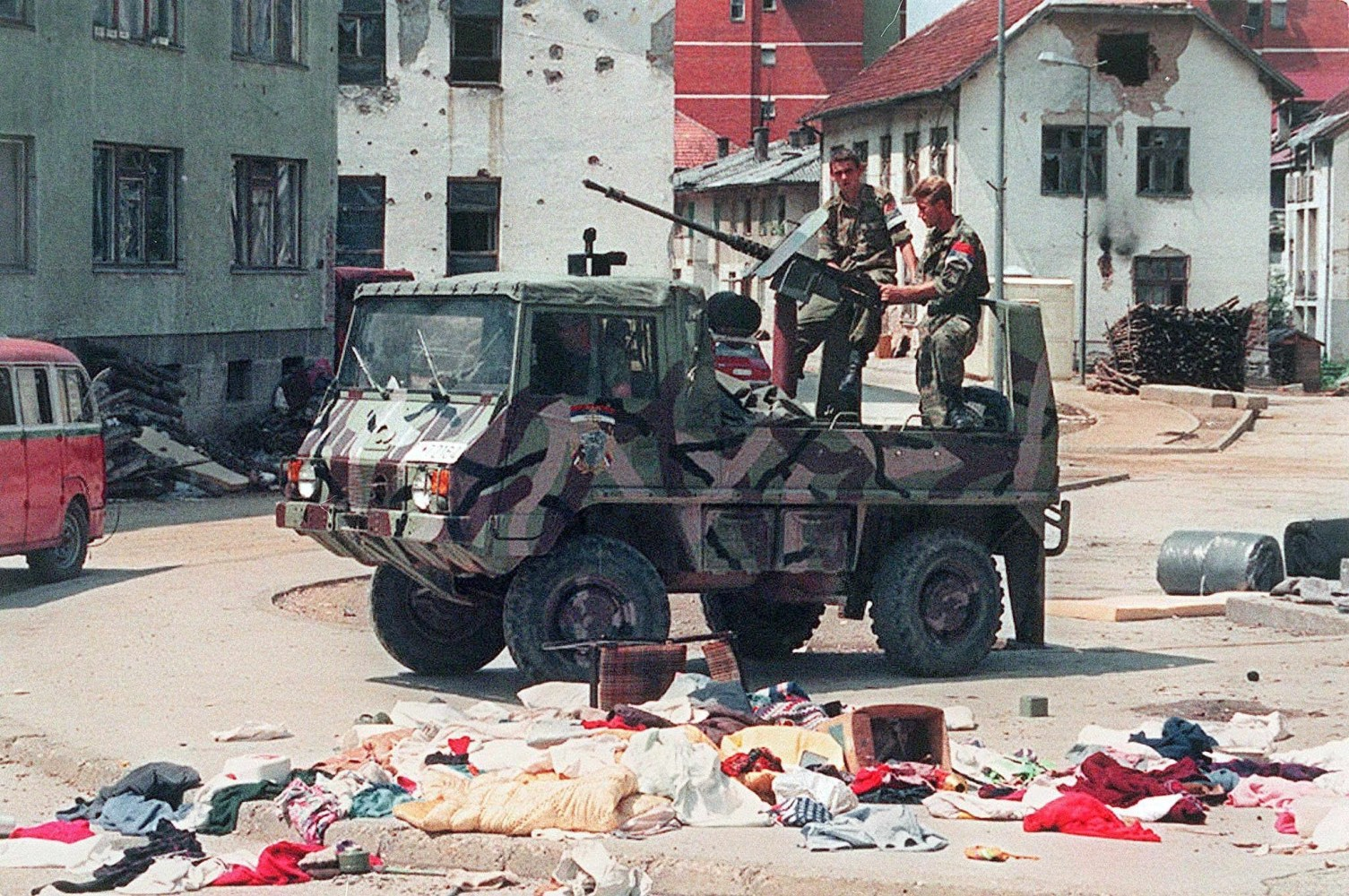 Image: 20 years since Srebrenica Massacre