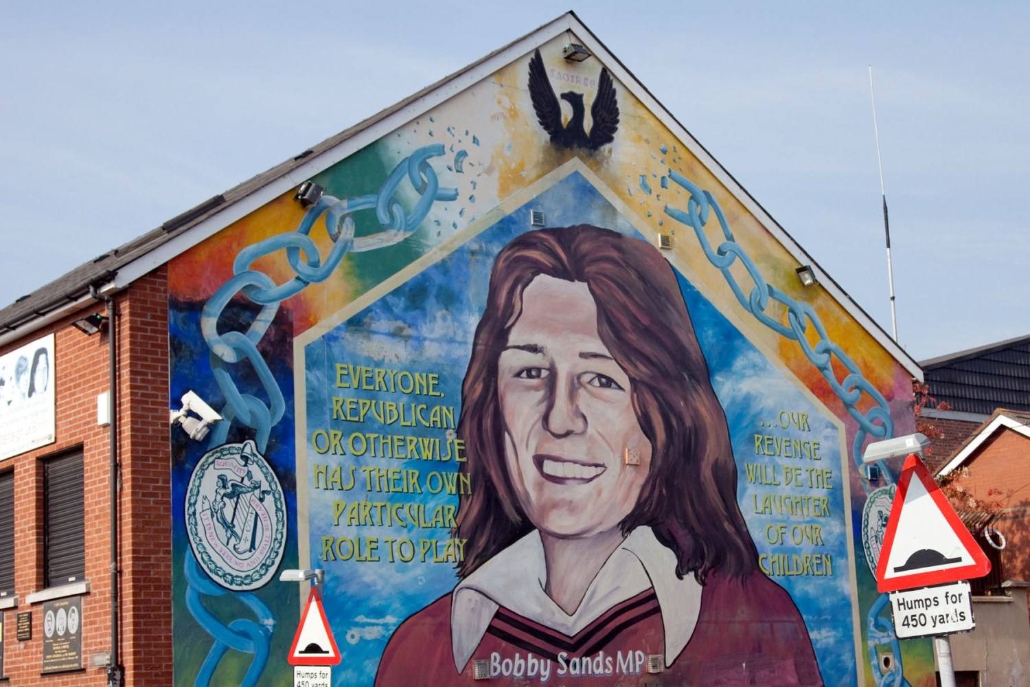 Anguish haunts northern ireland 39 s retired terrorists nbc for Bobby sands mural falls road