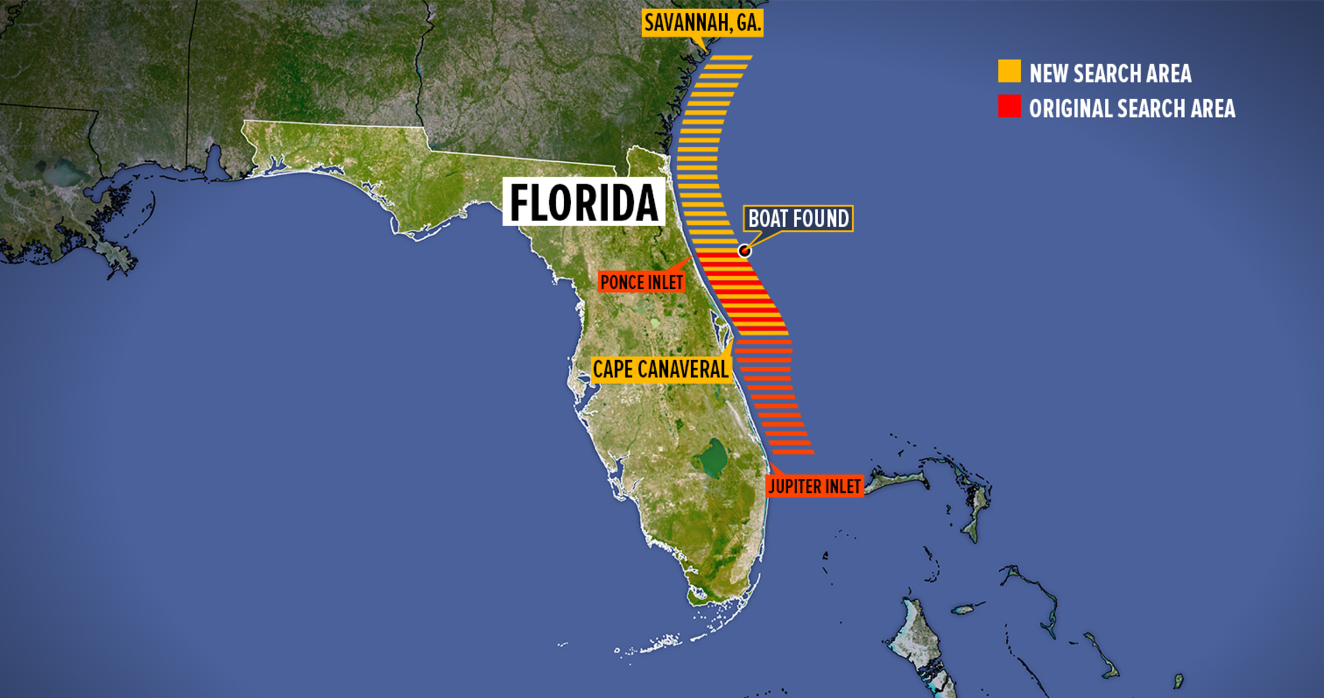Austin Stephanos And Perry Cohen Missing Florida Boaters Nowhere - Florida map jupiter
