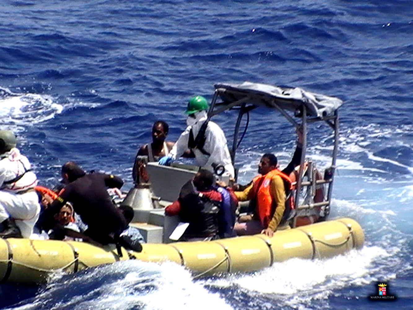 Image result for More than 200 migrants feared drowned in Mediterranean