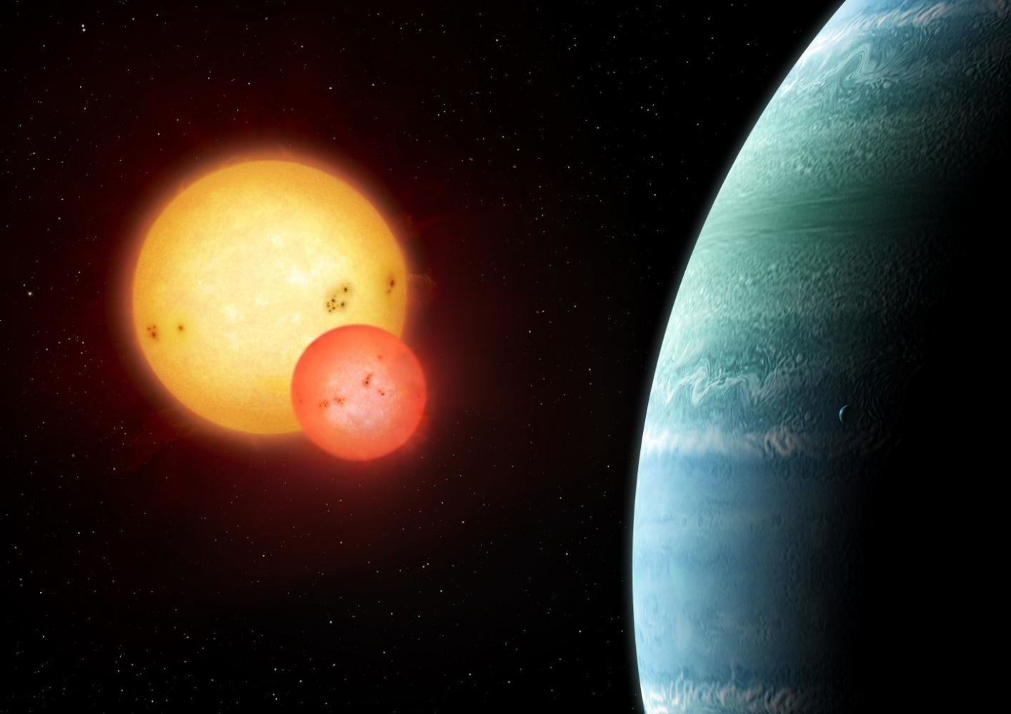 Tatooine planet kepler 453 discovered in habitable zone for Plante 94 pourcent