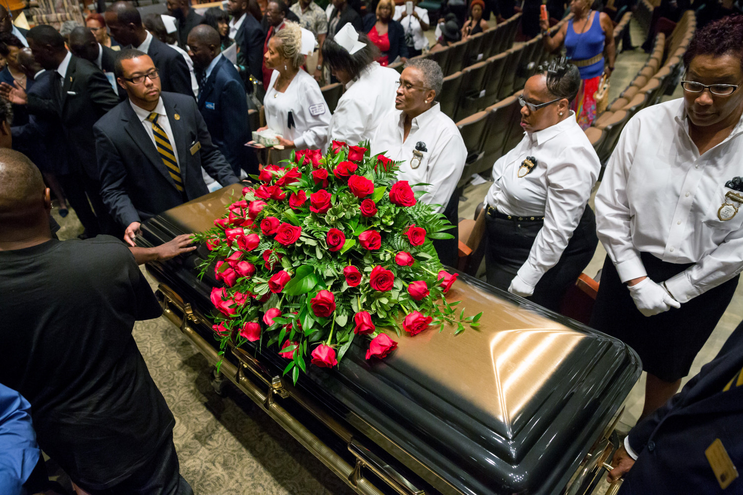 years after emmett till s murder black lives still matter image michael brown funeral