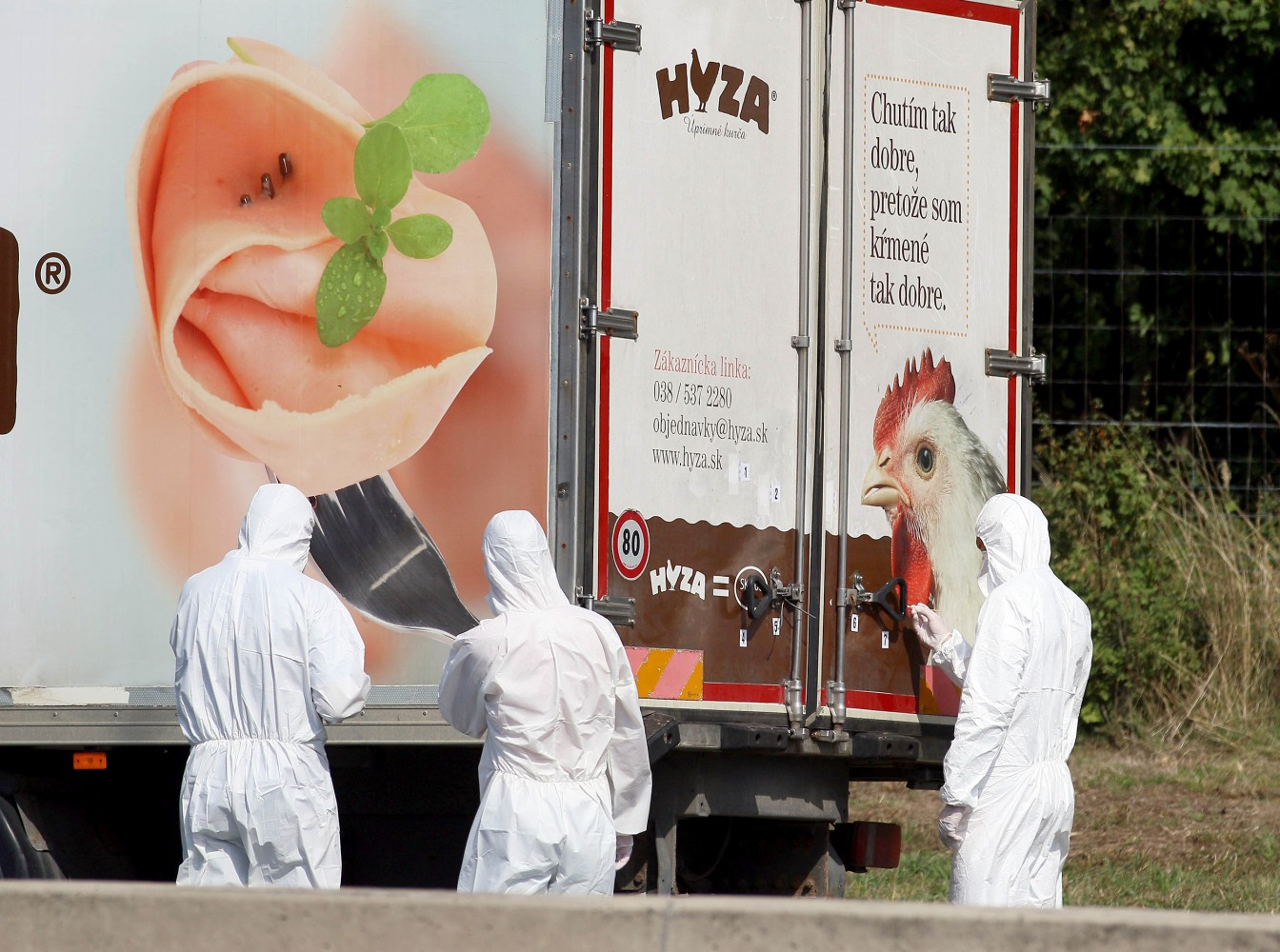 71 Dead Refugees Found in Truck on Austria Highway: Officials