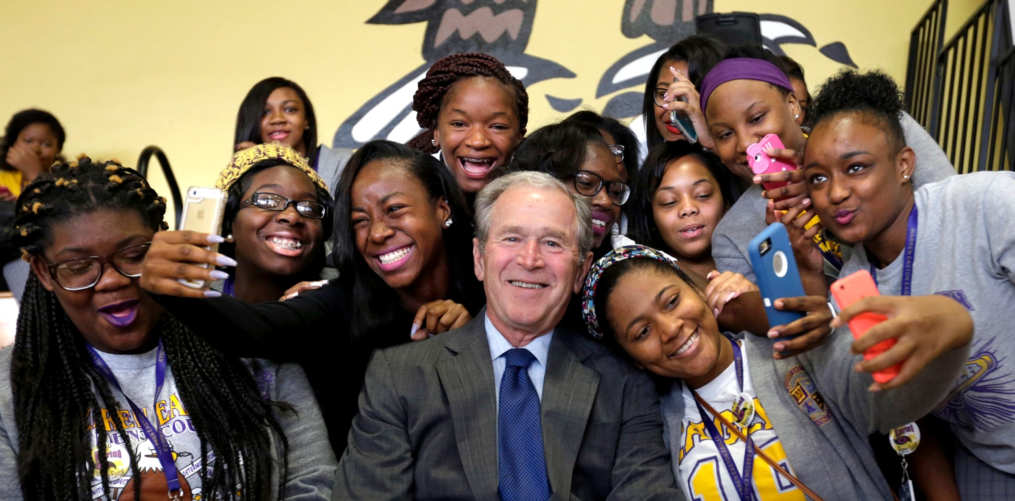 a look into president bush presidency Rick in la may gw bush never forget his legacy as the worst remembered president in us history, who ruined the lives of so many good citizens.