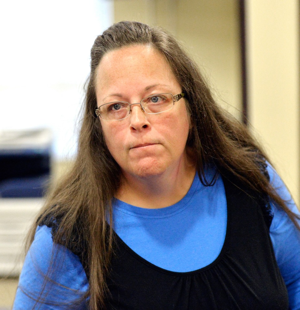 kentucky clerk kim davis who refused to issue marriage licenses image rowan county clerk kim davis
