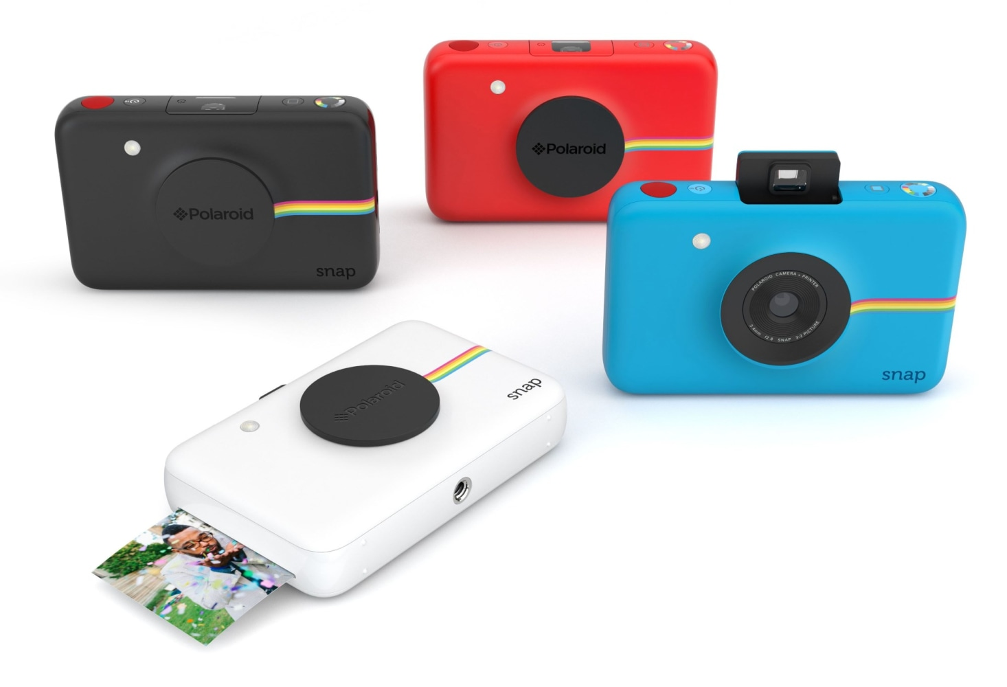 Agile image for polaroid camera printable