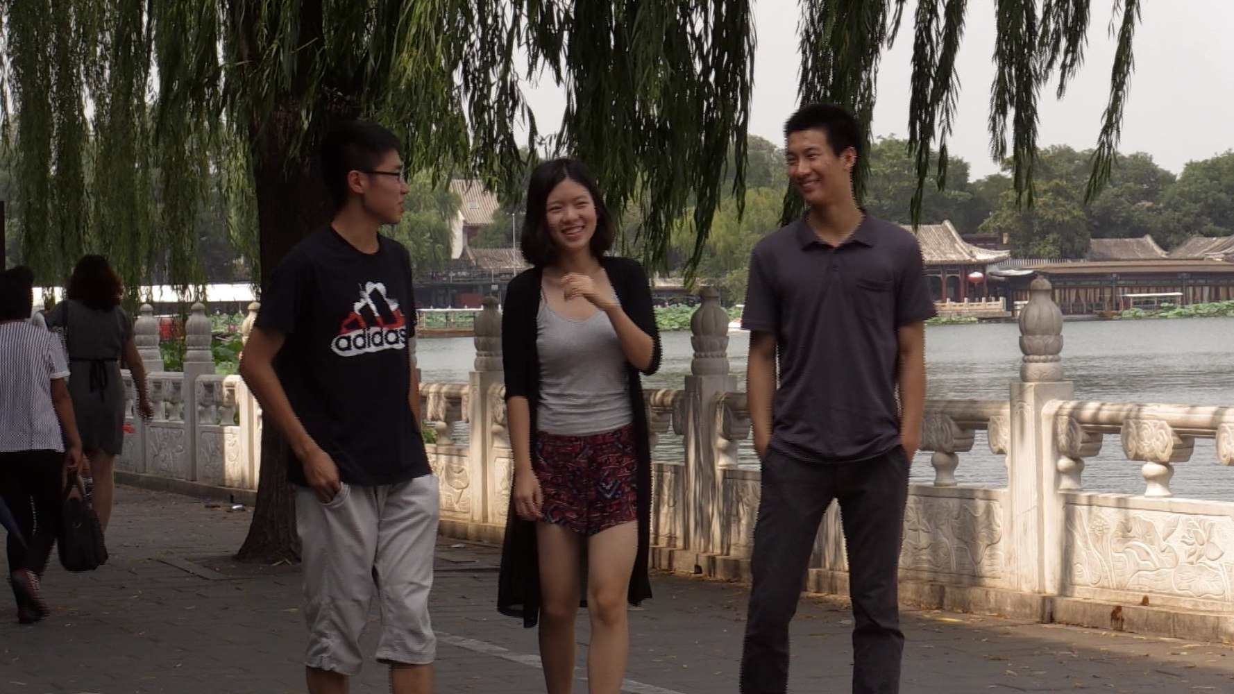 chinese students heading to u s for college face tough transition image guo reihan wu ziye and liu yuanhong