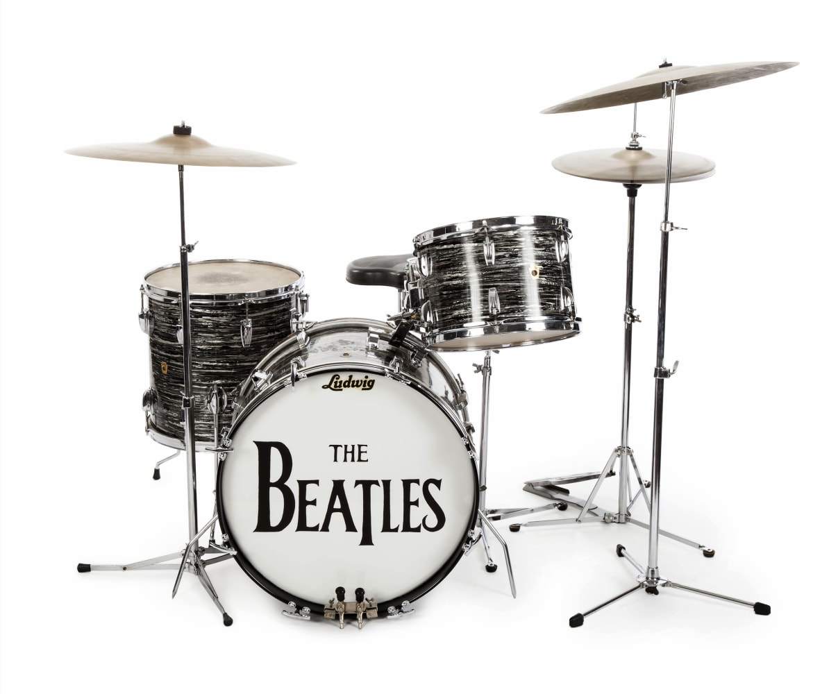 Lot Detail - The Beatles: Ringo Starr Personally Used ... |Ringo Starr Drums