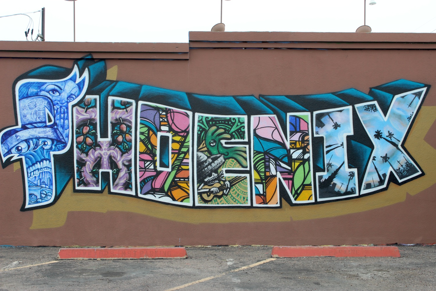Phoenix murals turn immigration controversy into latino for Calle 16 mural project