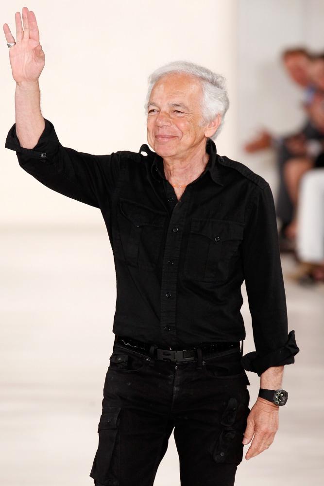 Mercedes-Benz Fashion Week Spring 2015 - Official Coverage - Best Of Runway Day 8. Designer Ralph Lauren ...