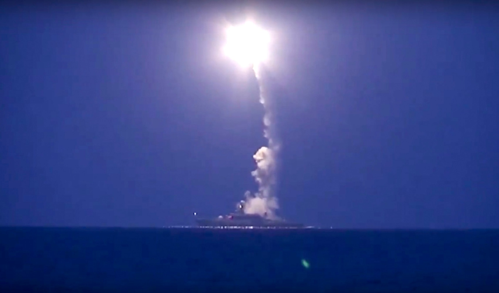 Russian Missiles Fired At Syria Landed In Iran U S