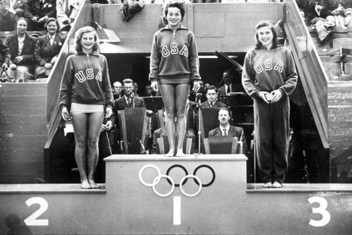1948 olympic games london england springboard ing united states