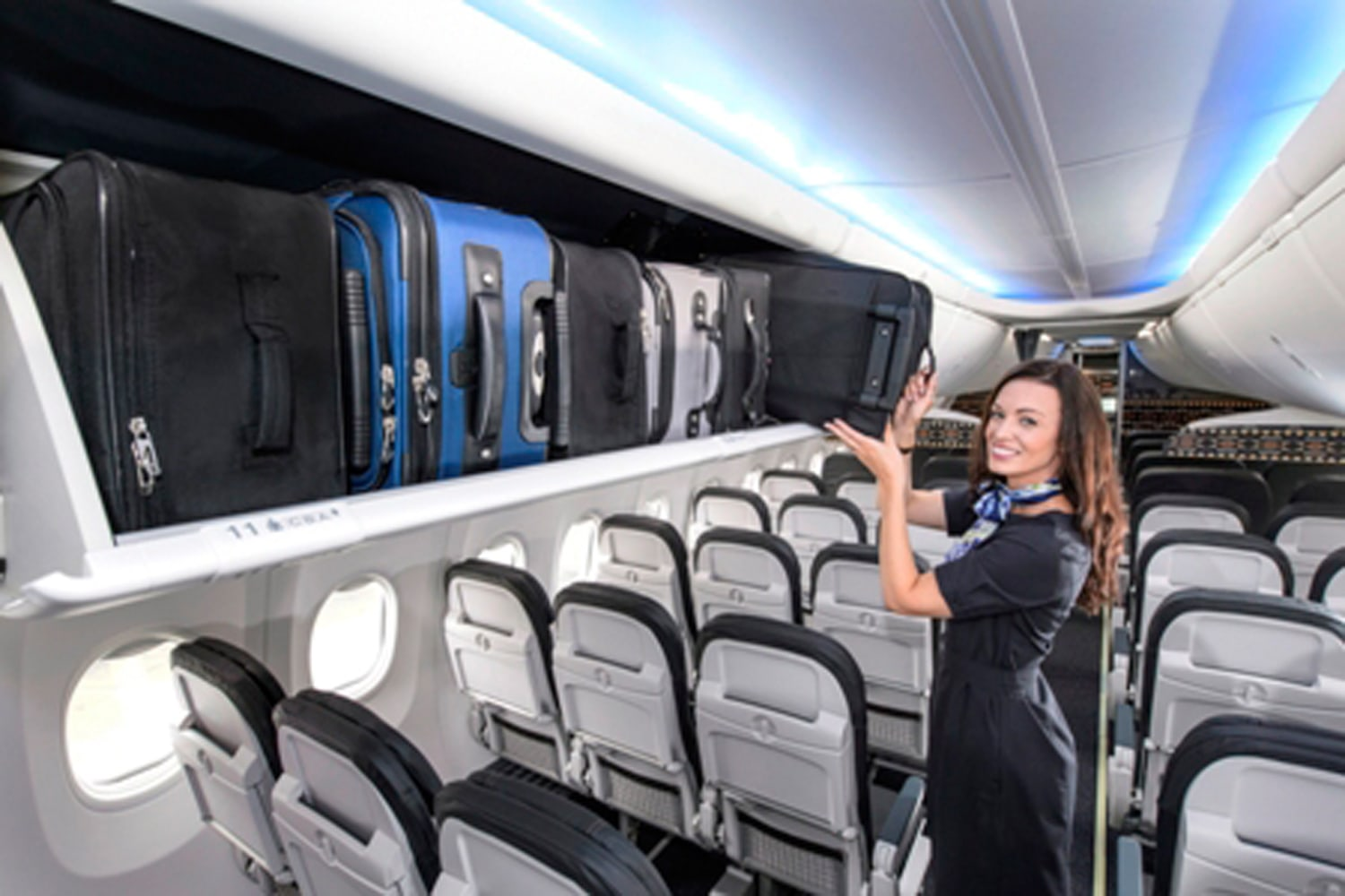 Boeing Outfitting Planes With More Bin Space Less