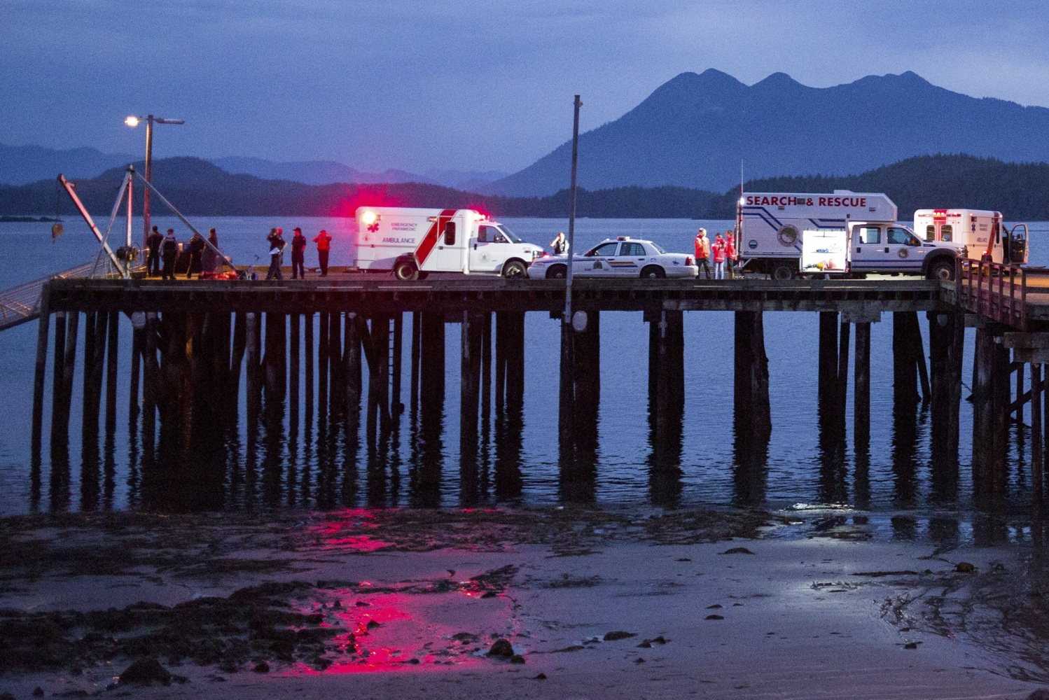 At least 5 killed when whale-watching boat sinks off British Columbia