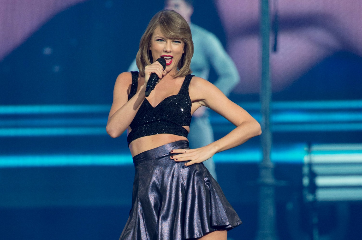 Taylor Swift performs at a concert for adoring fans at the Greensboro ... Taylor Swift