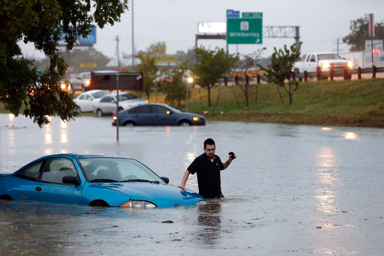 Deadly Floods, Possible Tornadoes Strike Texas as Storm Sweeps Through ...