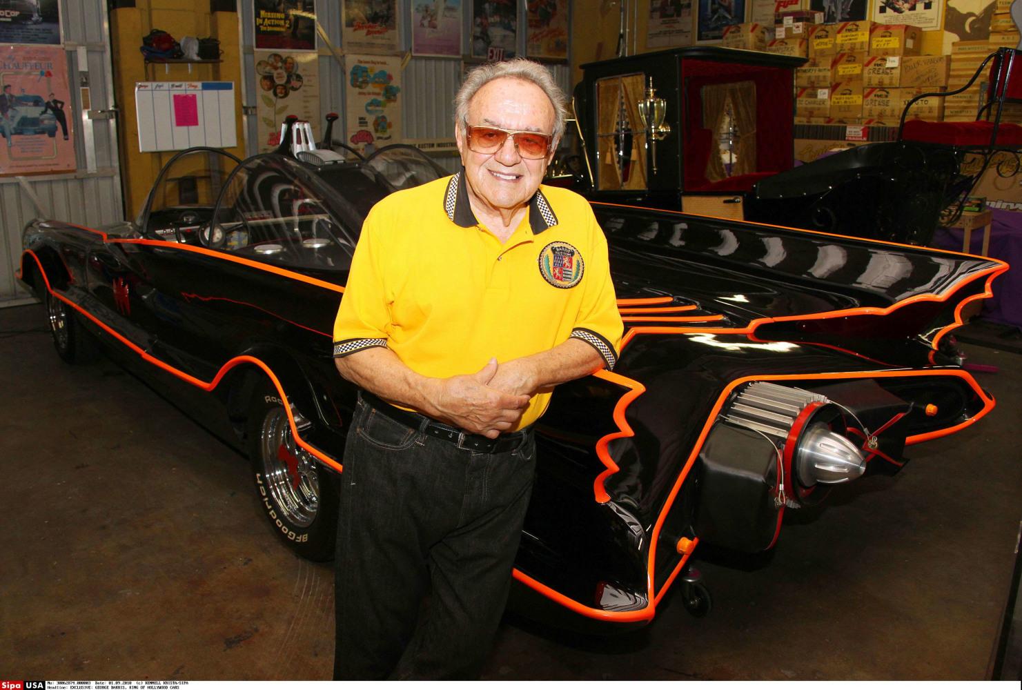 George Barris (auto customizer) George Barris Legendary Car Customizer and Batmobile