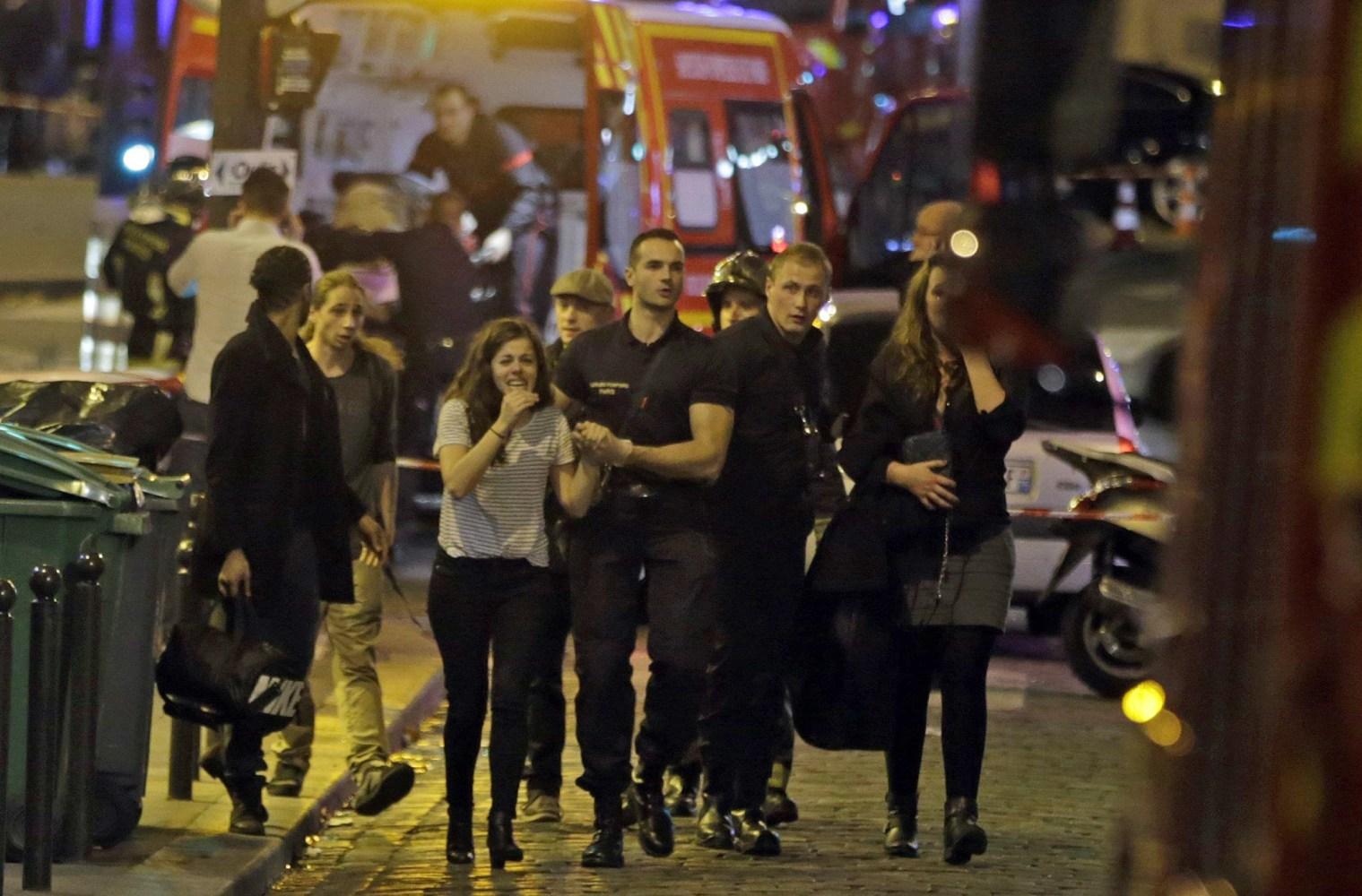 Multiple Paris Terror Attacks Leave at Least 120 Dead - NBC News