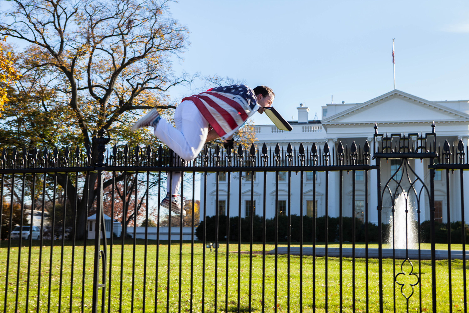 Image result for whitehouse fence