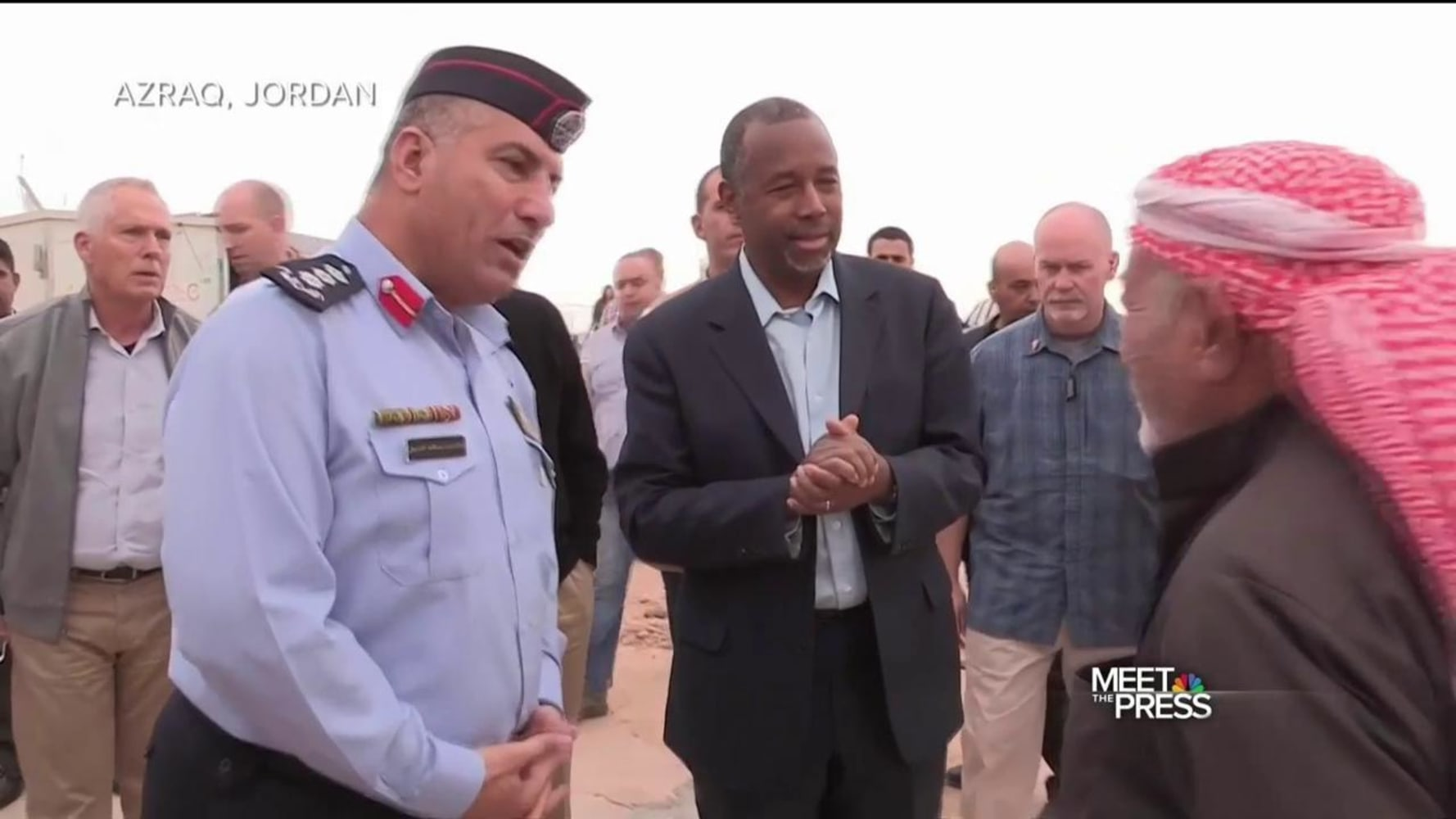 Carson: Syrian refugees want to go home