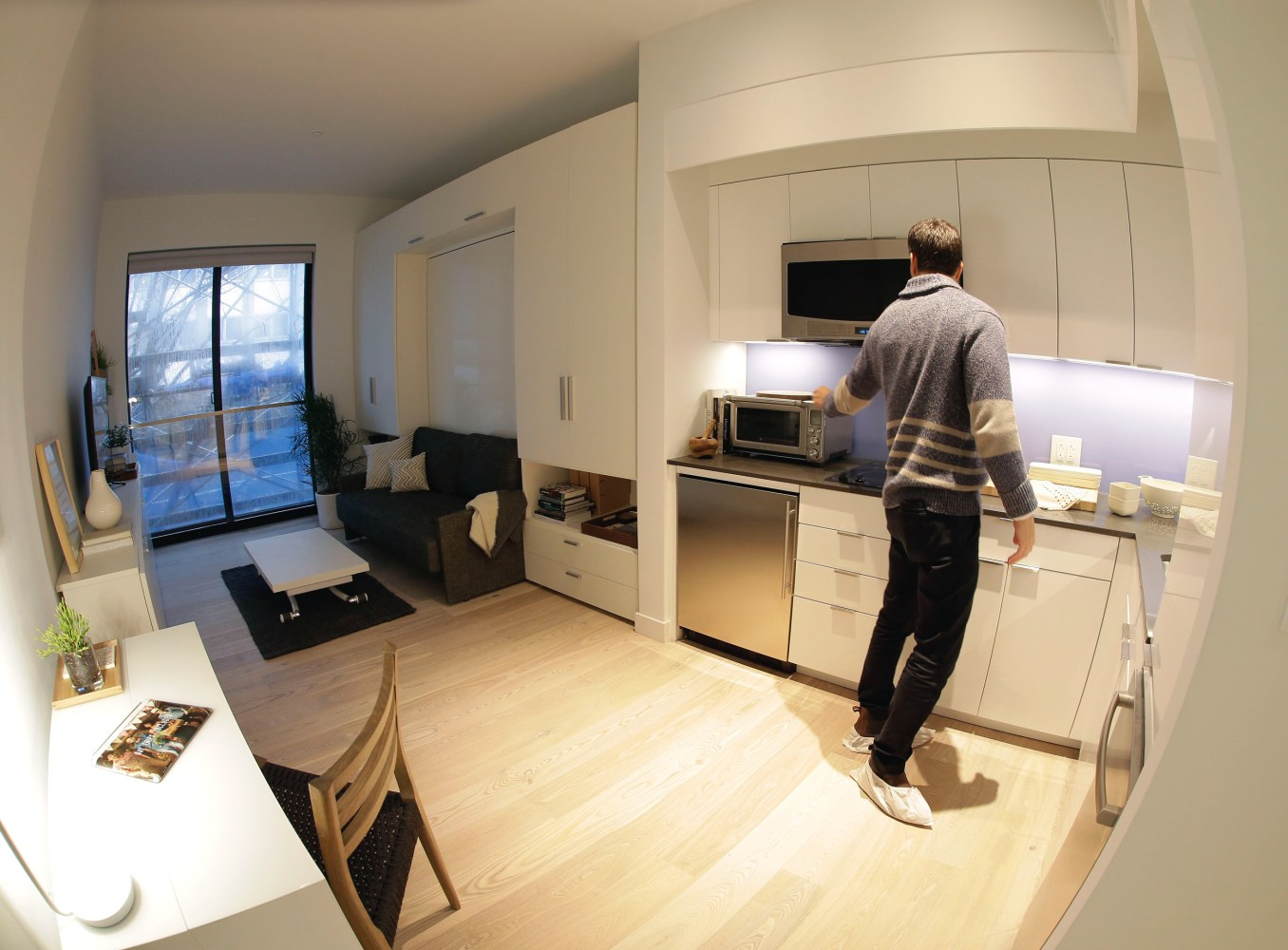 Affordable or 39 offensive 39 nyc moves to ease rules on tiny for Tiny modern apartment