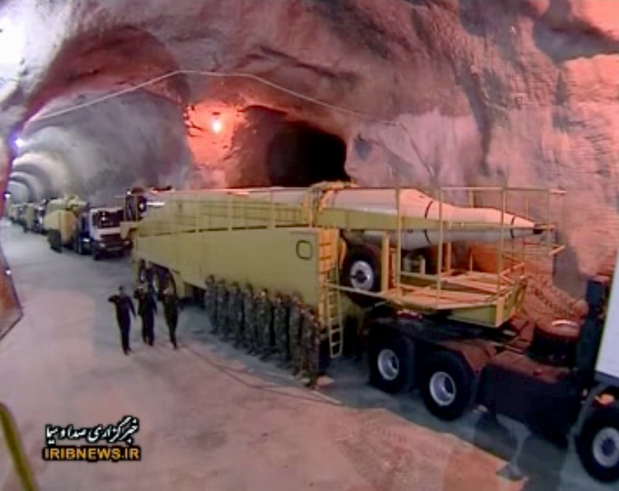Iran State Tv Shows Off Nuclear Capable Missiles In
