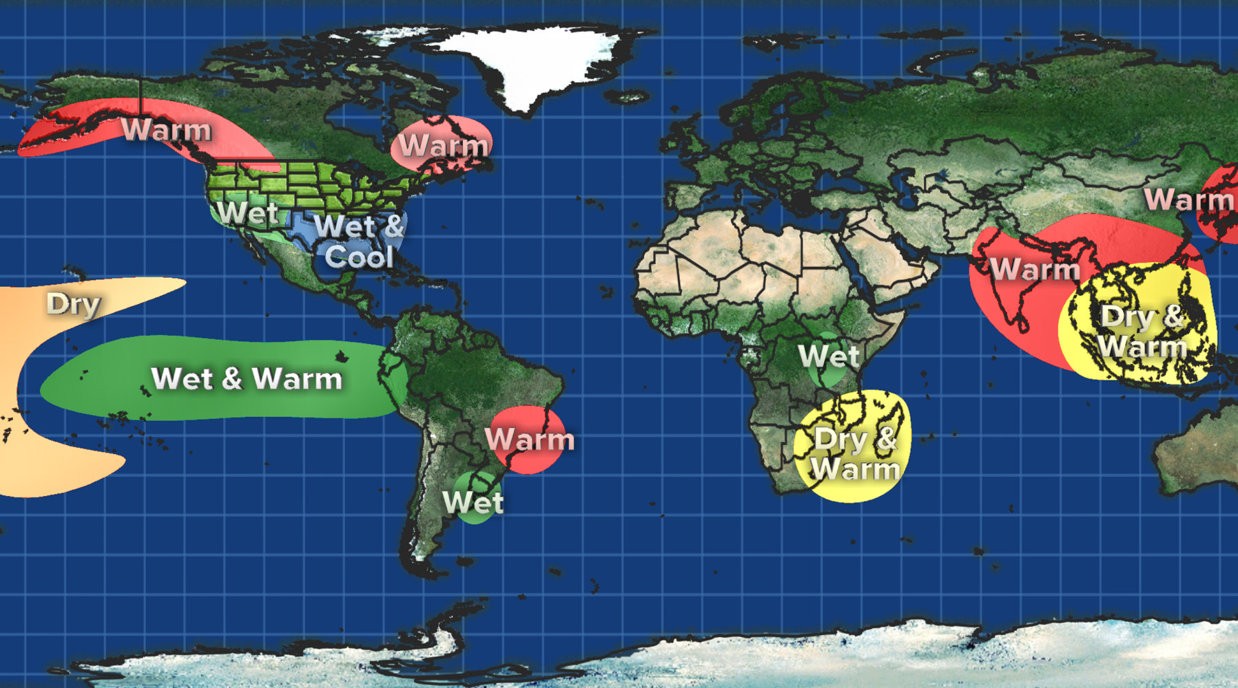 Not Just California: El Niño Blamed For Weather Woes Around Globe ...