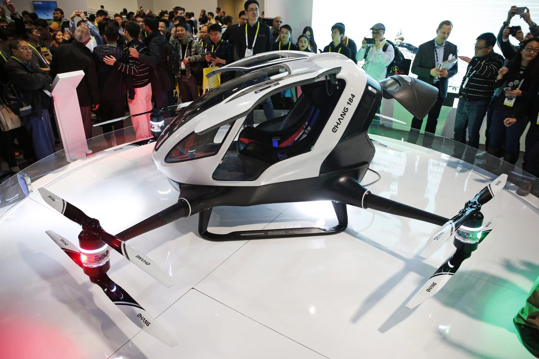 ehang 184 air taxi drone