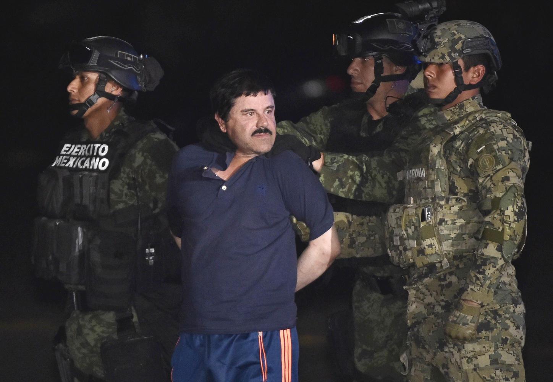 el chapo  mexican drug kingpin recaptured  sent back to