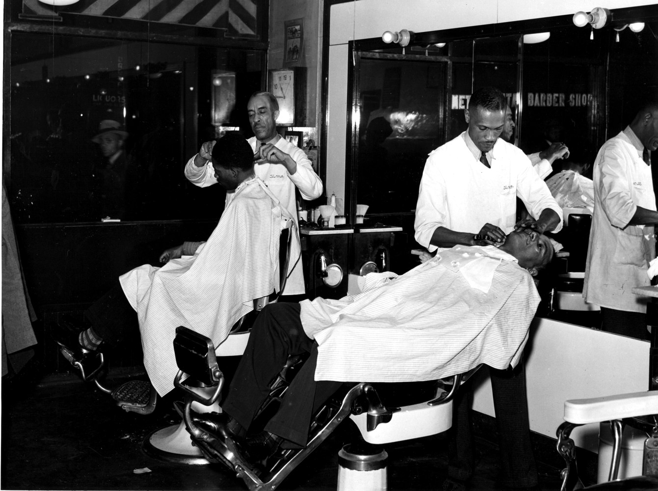 essay sharing my truth in a black barbershop nbc news late night at the met barbershop