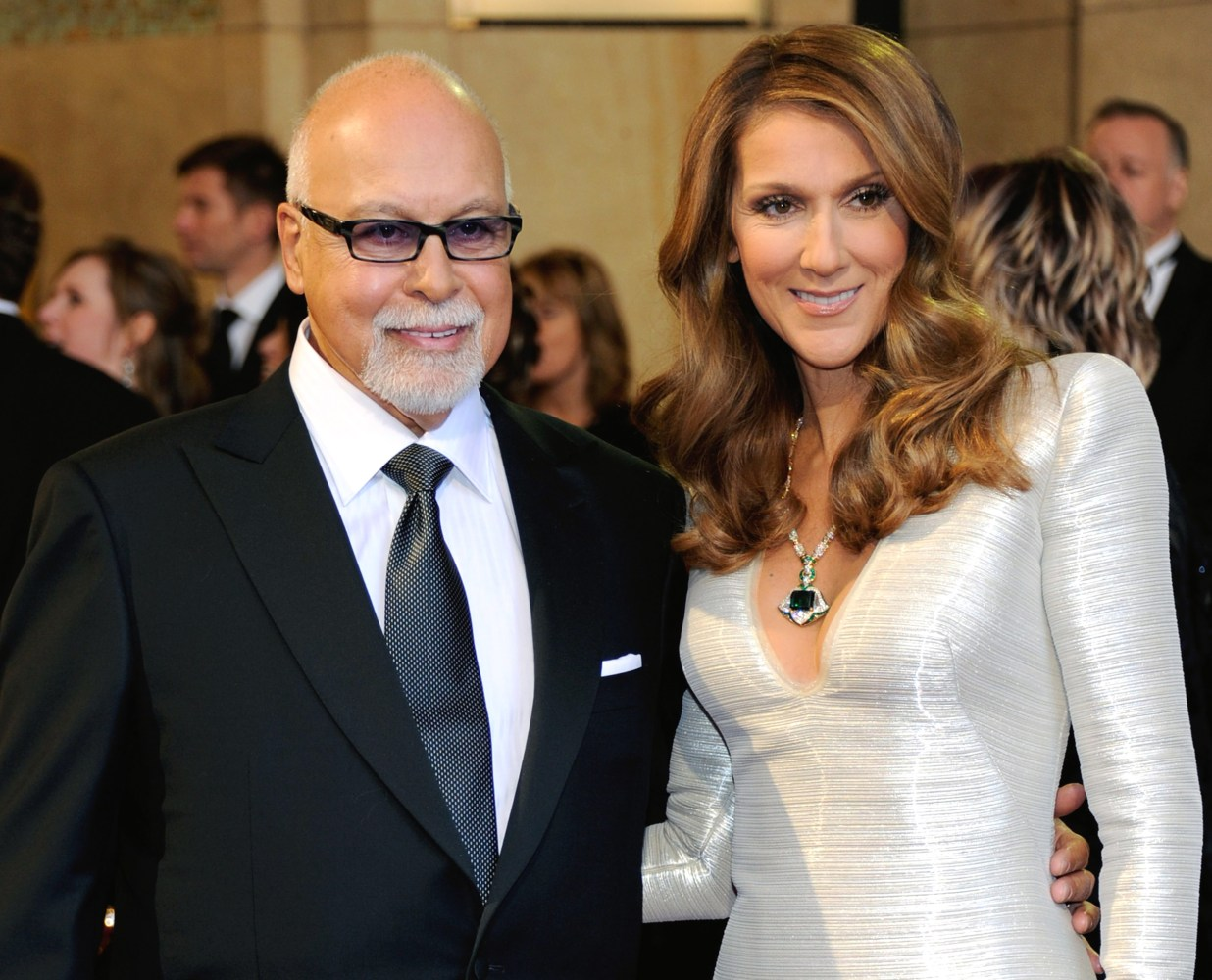 Celine Dion with Husband René Angelil