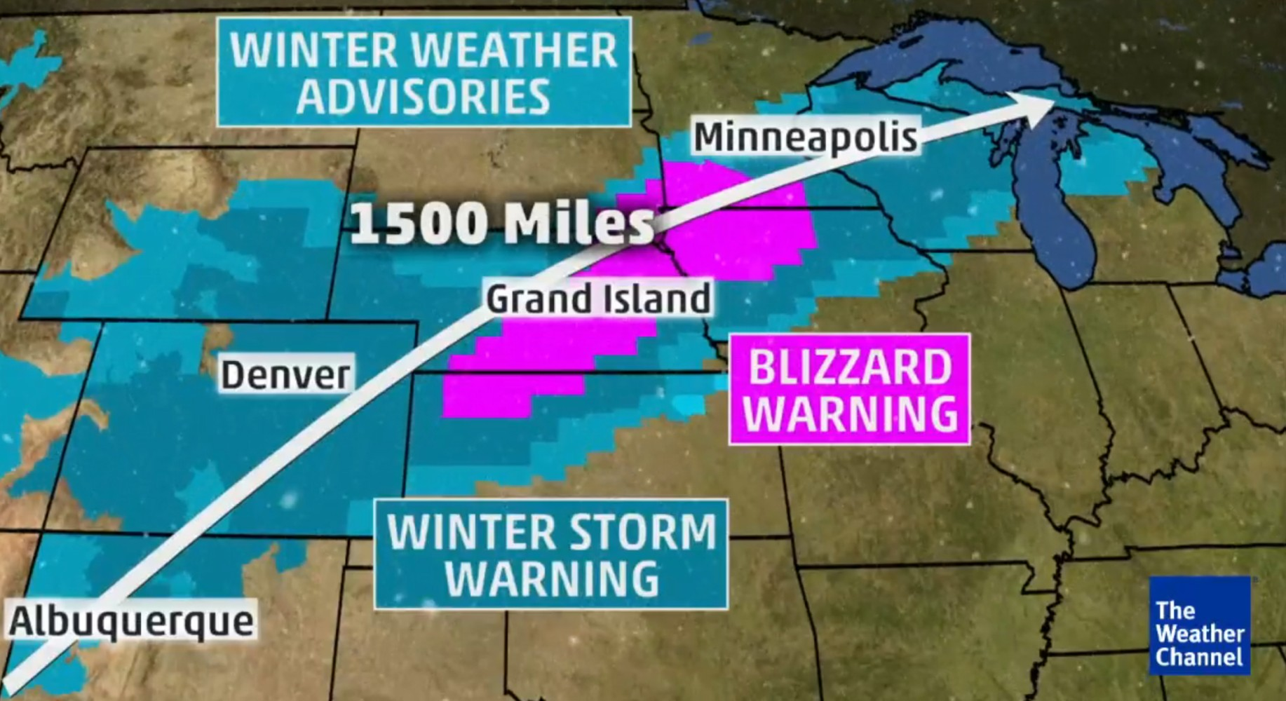 Snowstorm 60 Mph Winds Threaten Blizzards Across Plains And Midwest Nbc News