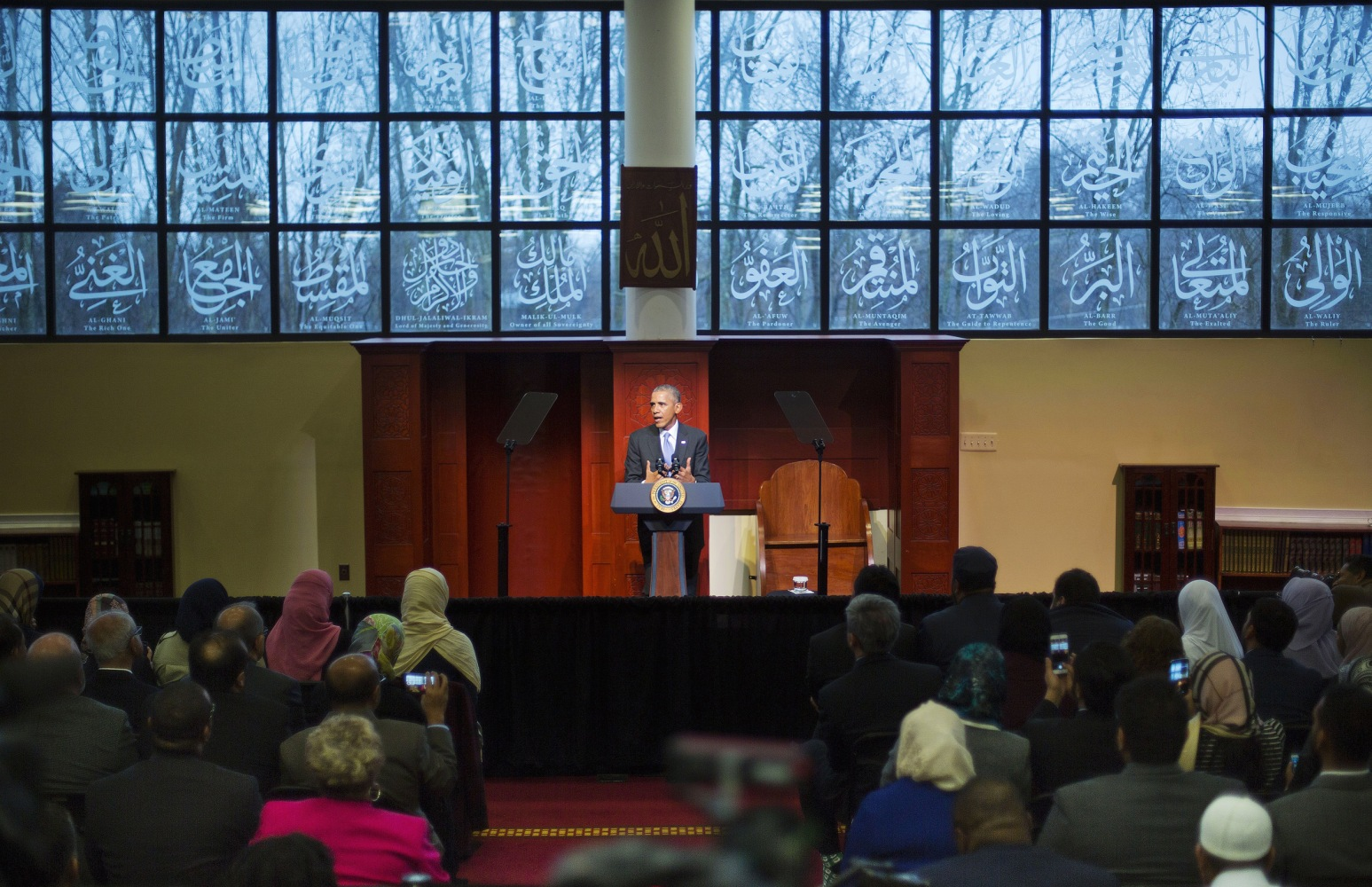 new baltimore muslim Barack obama is making his first presidential visit to a us mosque on wednesday, but the historic occasion is being overshadowed by criticism that the baltimore-area center he chose has extremist ties the controversy centers around the islamic society of baltimore.
