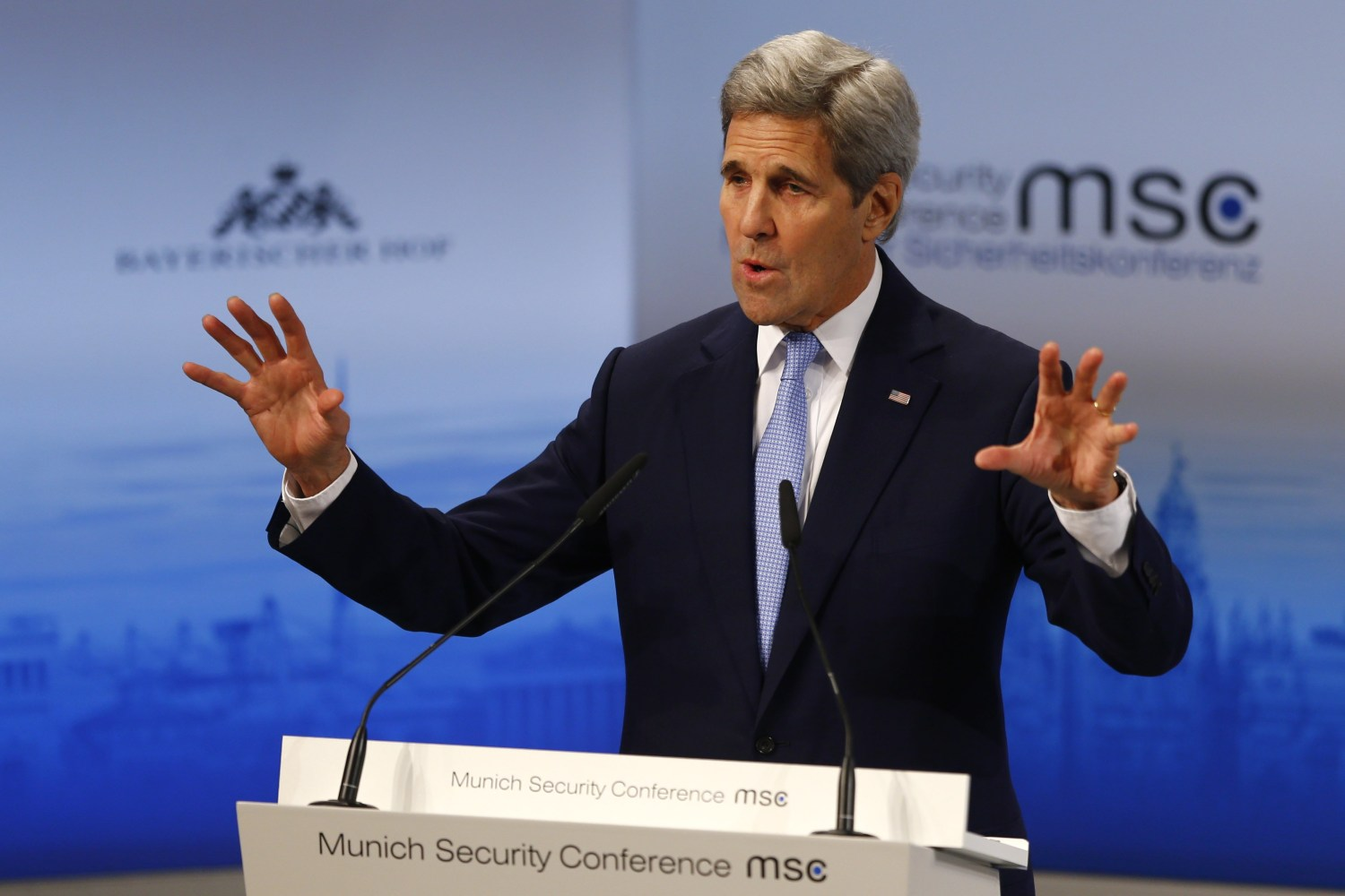 Image result for 54th Munich Security Conference, John Kerry, others, photos