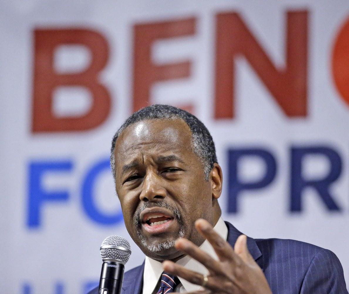 USA election 2016: Carson says Obama was 'raised white'
