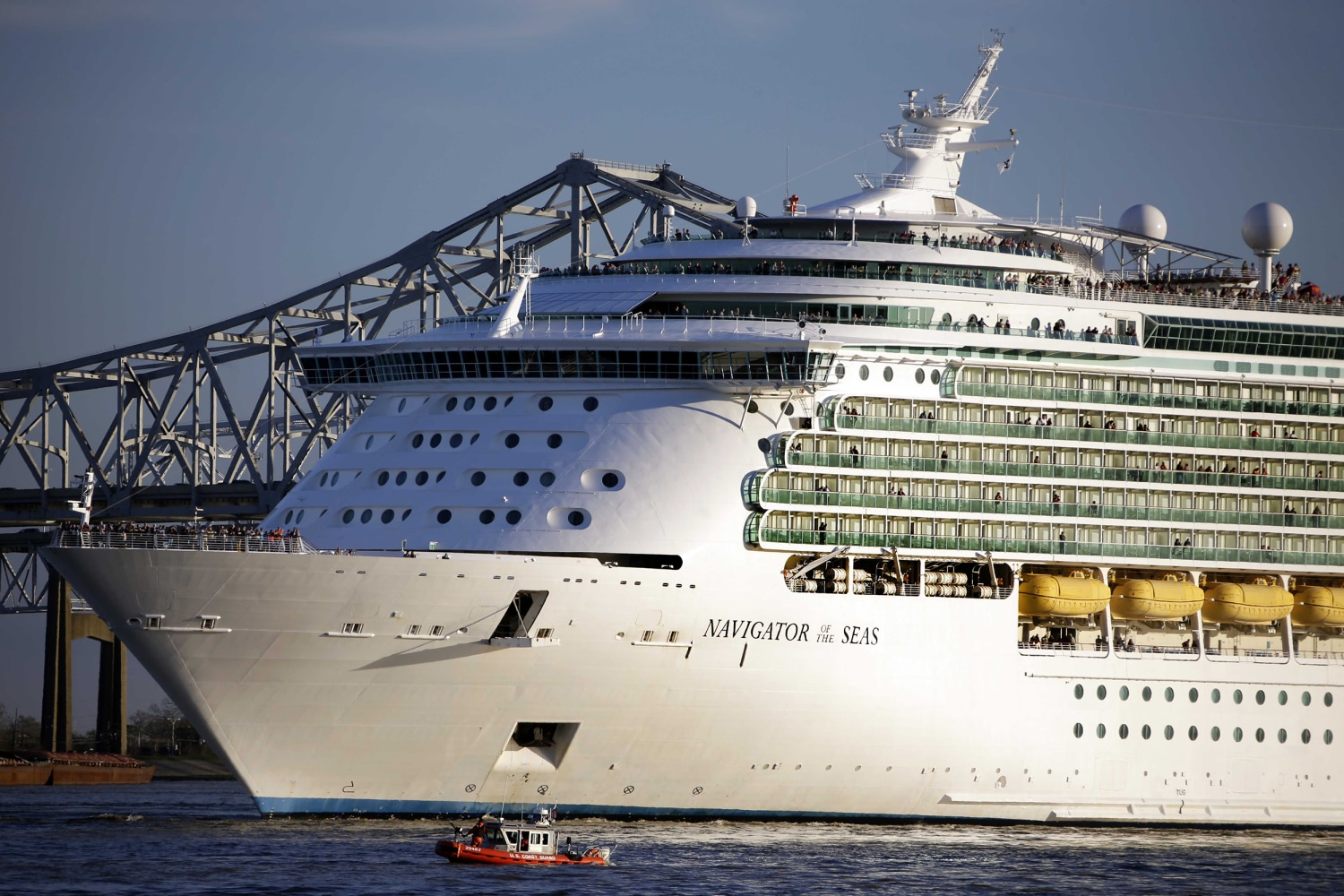 Coast Guard Searches For Man Who Fell From Cruise Ship Off Florida  NBC News