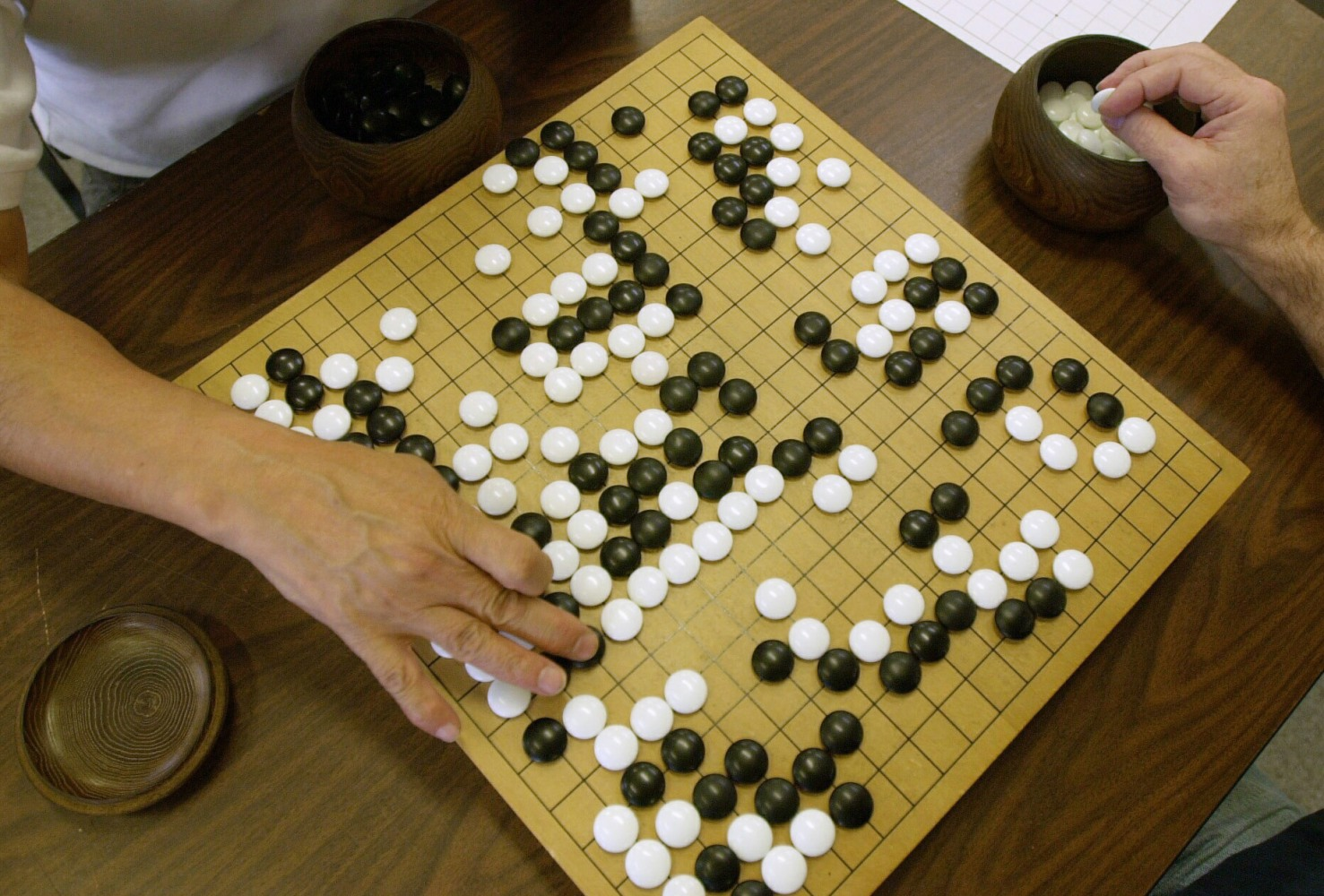 Go matches between lee sedol and alphago push ai