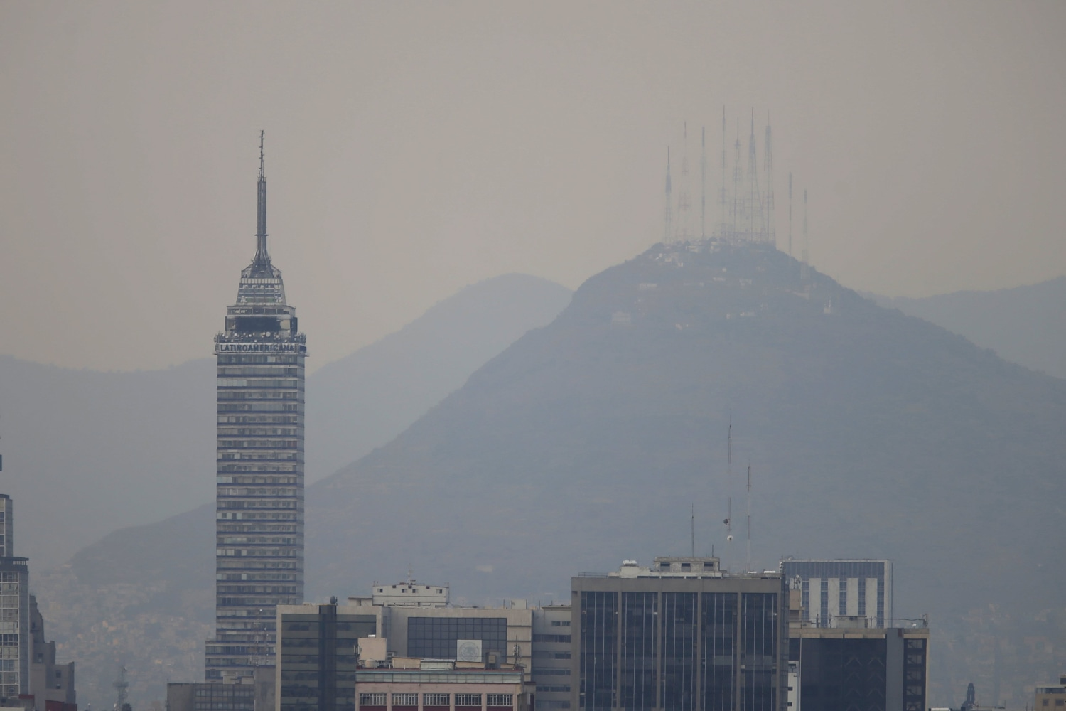 Researchers to study air pollution near Mexico City