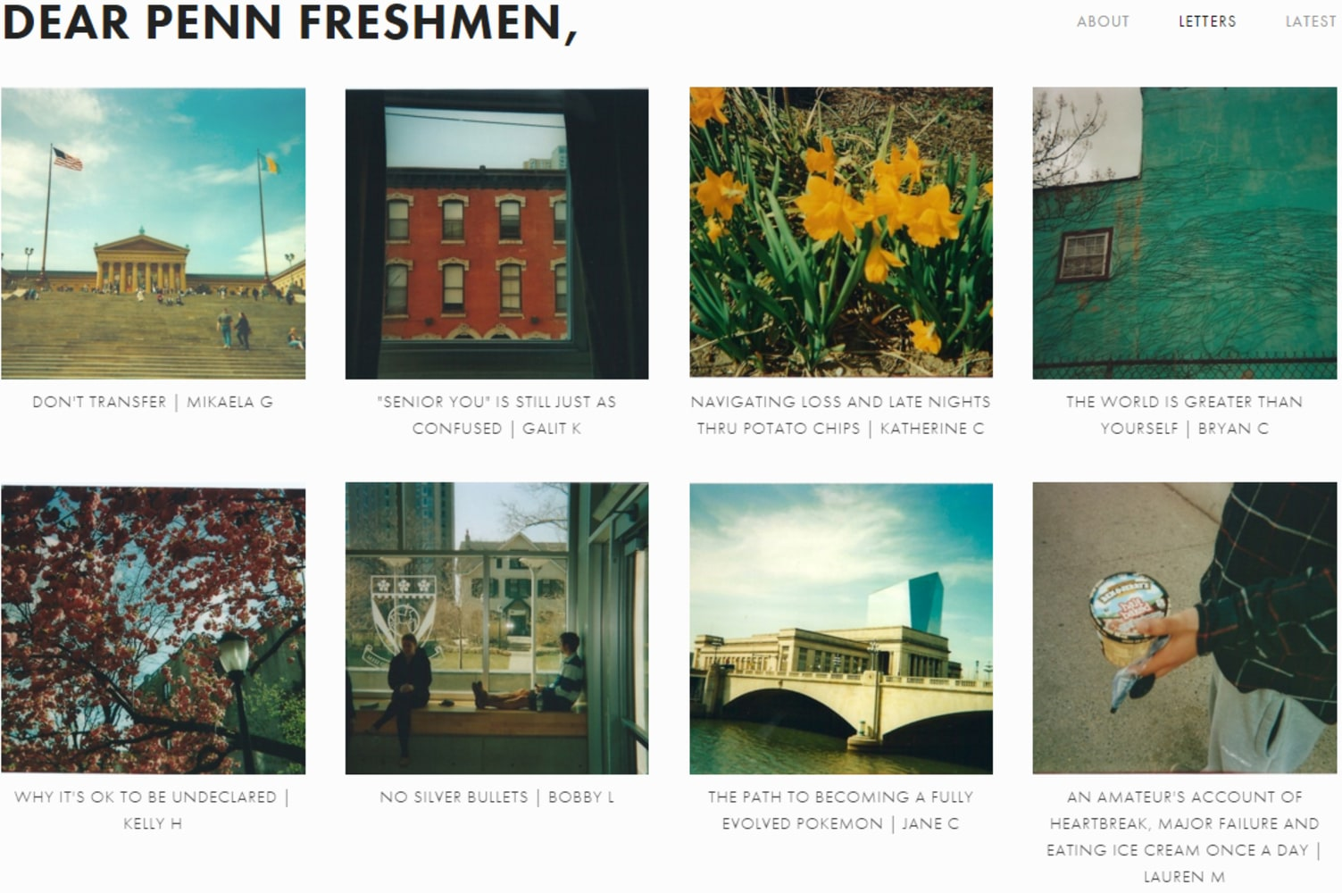 dear penn freshmen upperclassmen share advice in honest letters image dear penn freshmen