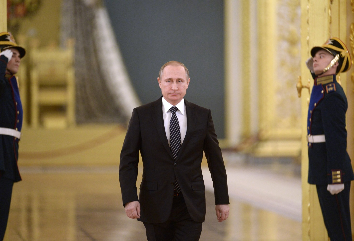 Vladimir Putin Says Russia Could Rebuild Syria Forces In