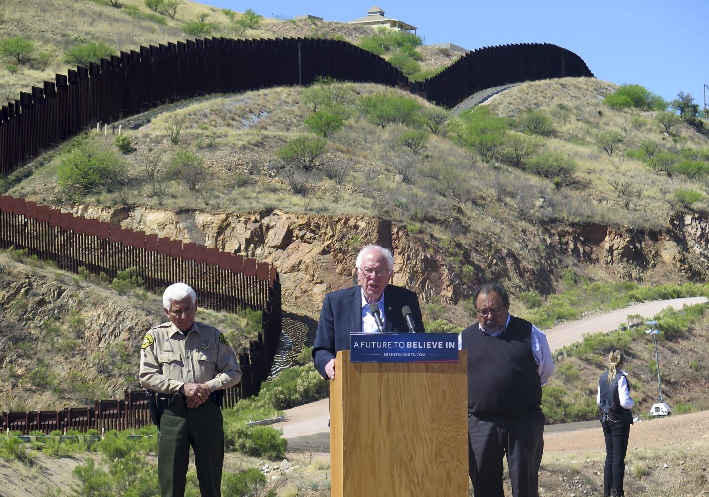 Bernie Sanders Calls for Immigration Reform During U.S