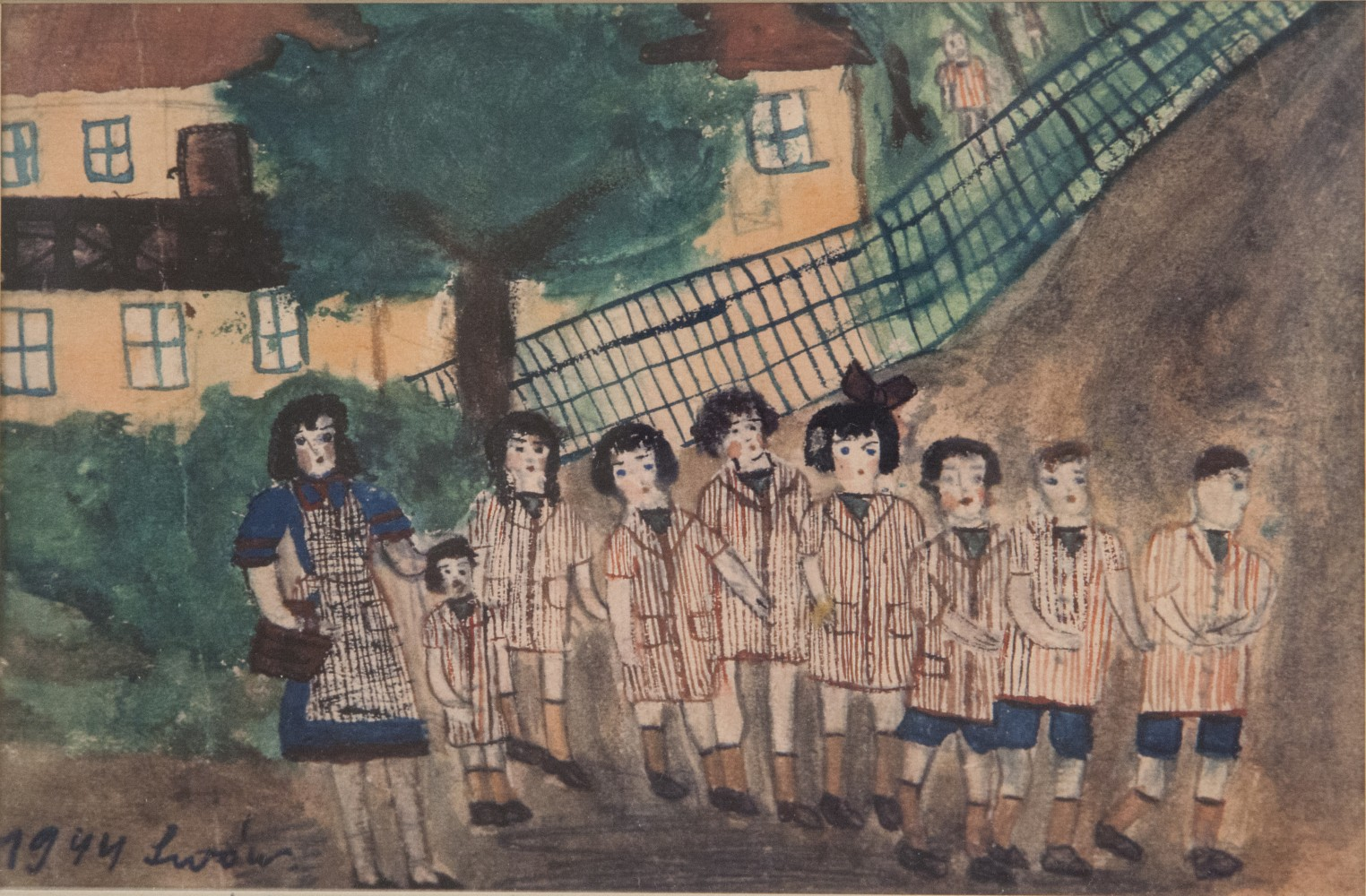 Holocaust Survivors' Art on Display For First Time in ...