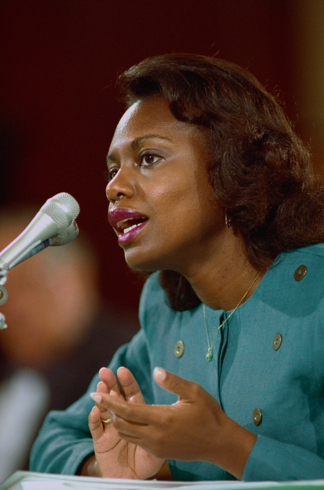 anita hill Anita hill says there's a difference between her workplace harassment experience and today's metoo and time's up movements.