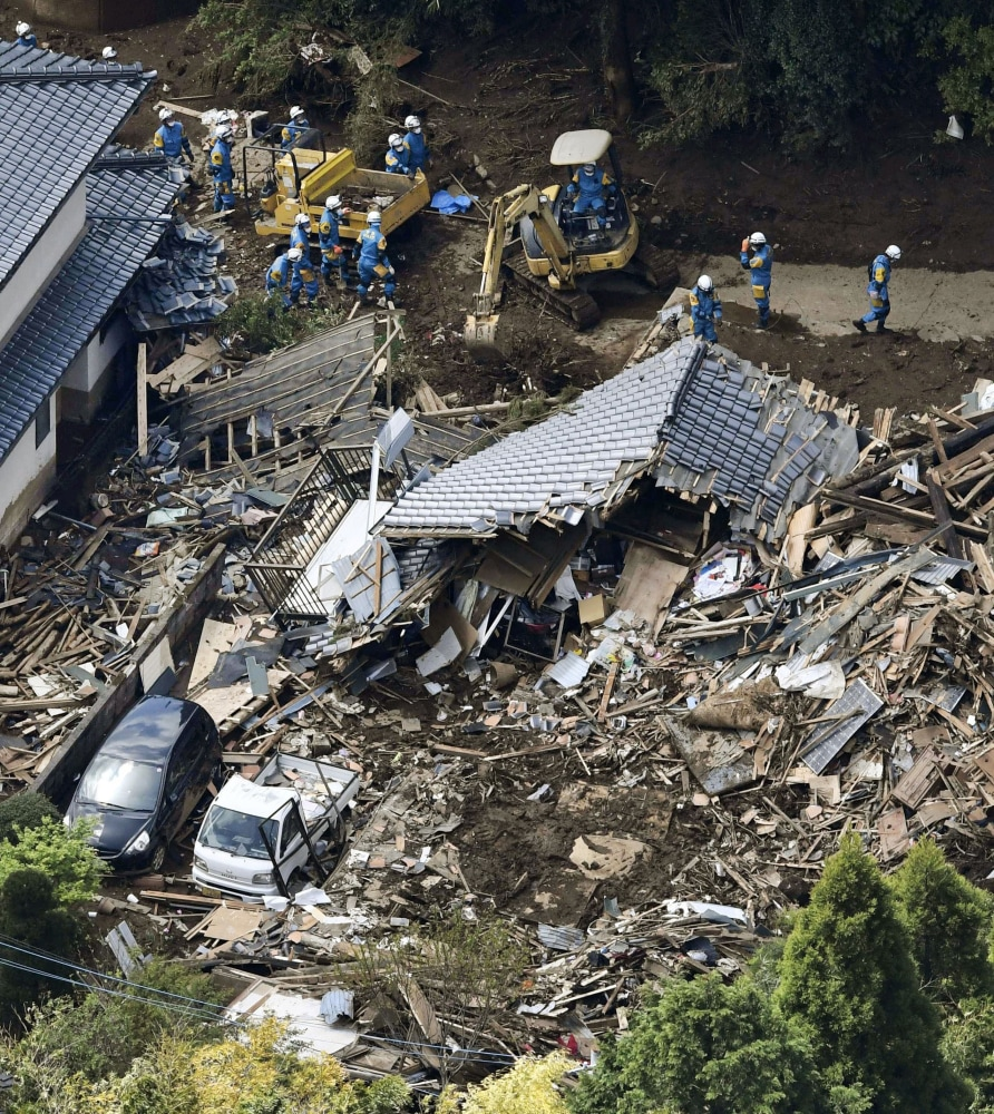 U.S. Military Offers Air Aid as Japan Searches for Quake Survivors ...
