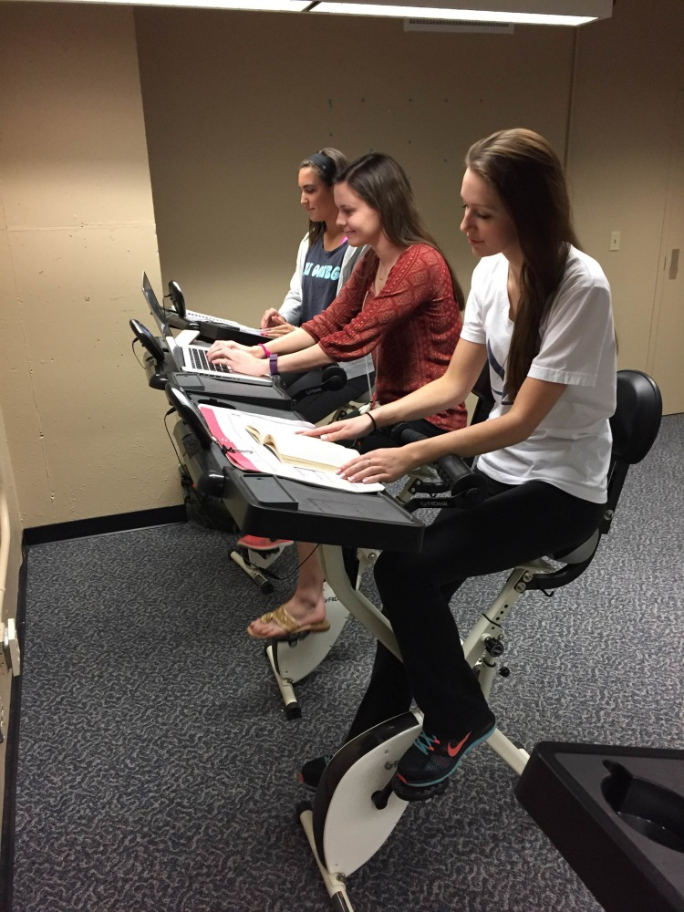 Fitdesk Bikes Help Students Pedal Their Way To Health