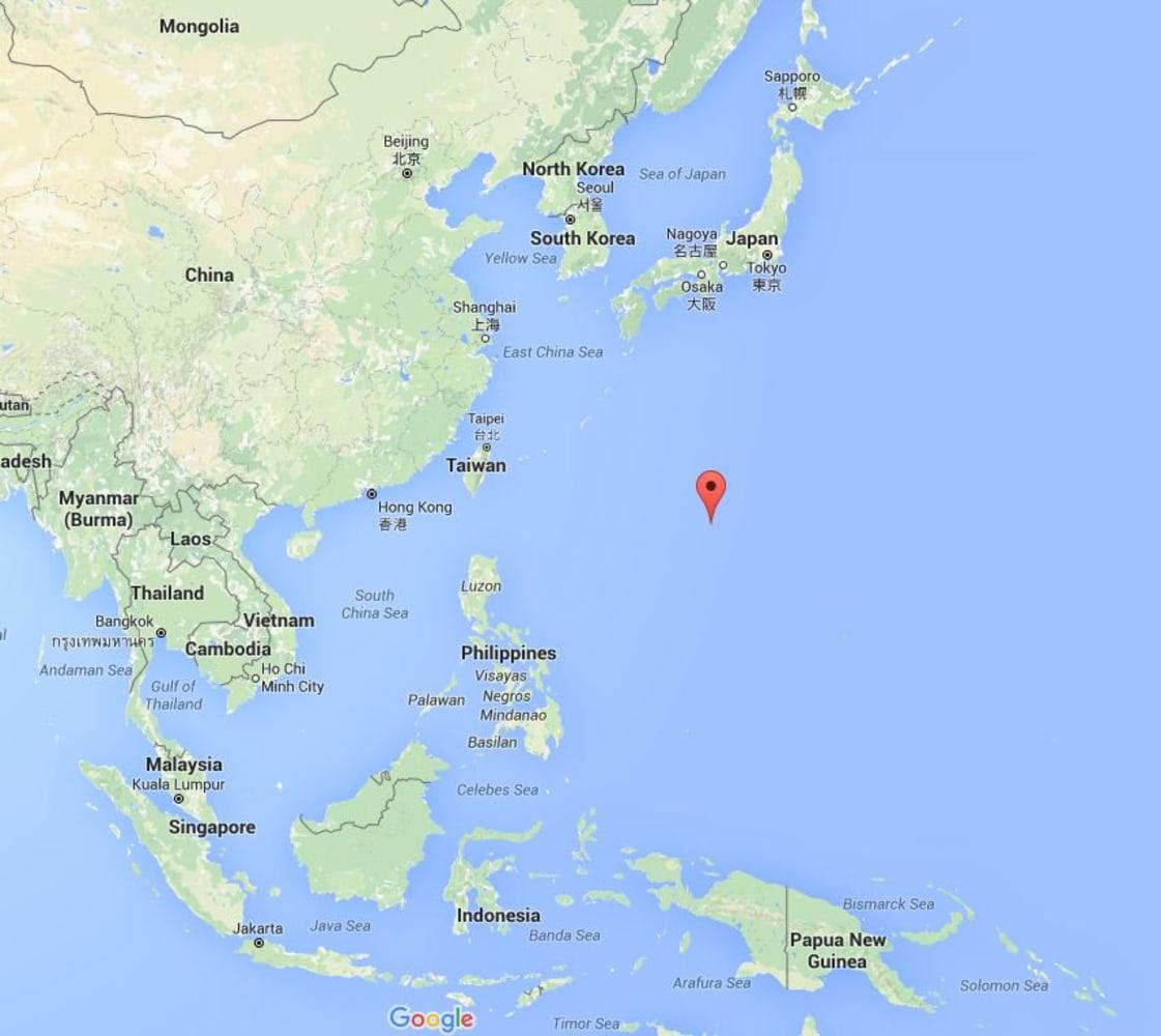 Japan taiwan map ecodualismo image map showing okinotori japan taiwan map gumiabroncs Images