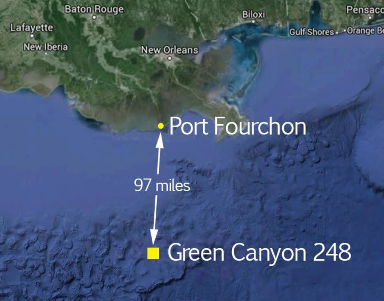 Tens of Thousands of Gallons of Crude Oil Spill Into Gulf of
