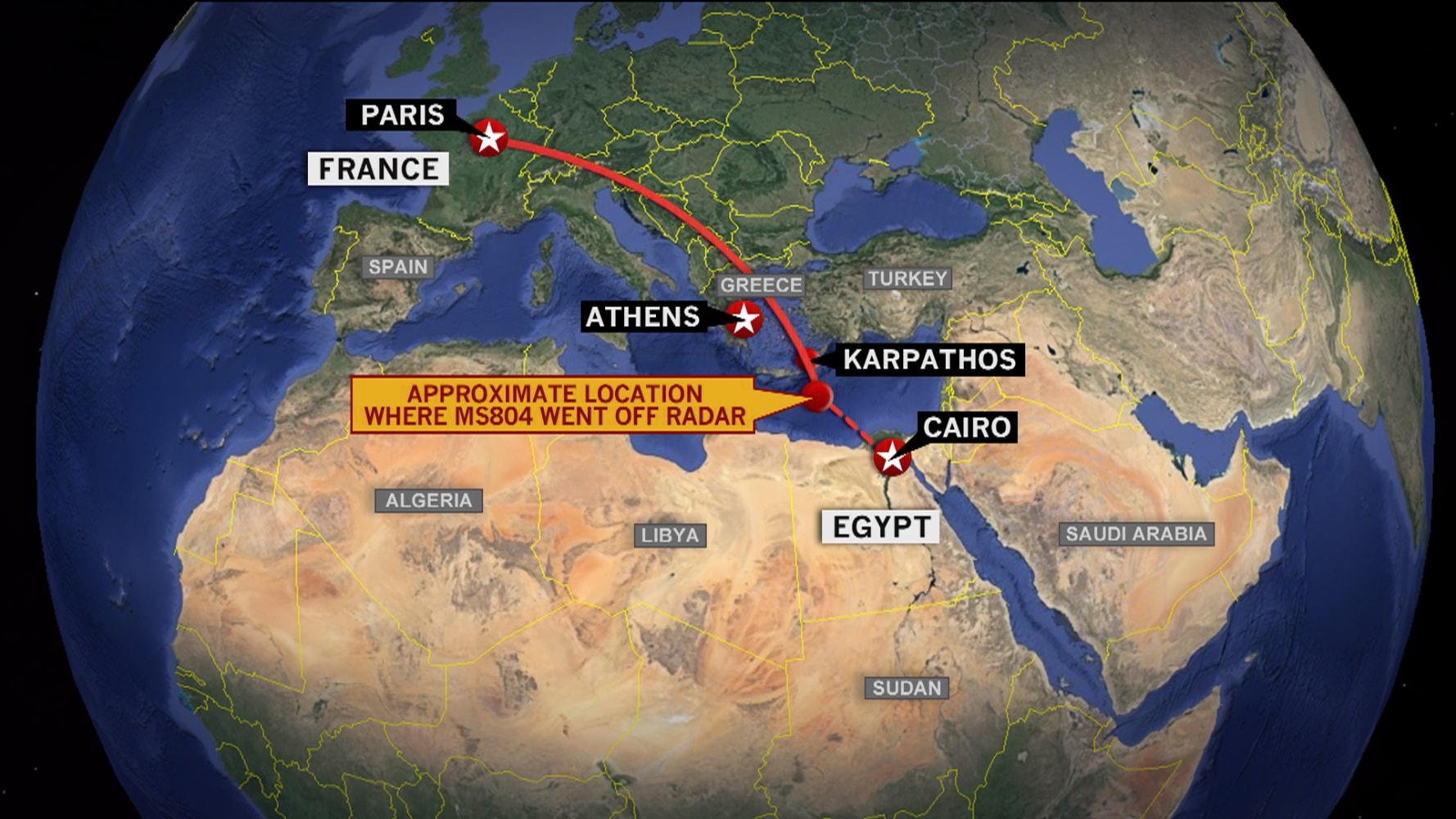 EgyptAir Flight MS Crashed In Deep Seas Near Underwater - Mountainous aircraft accidents map us