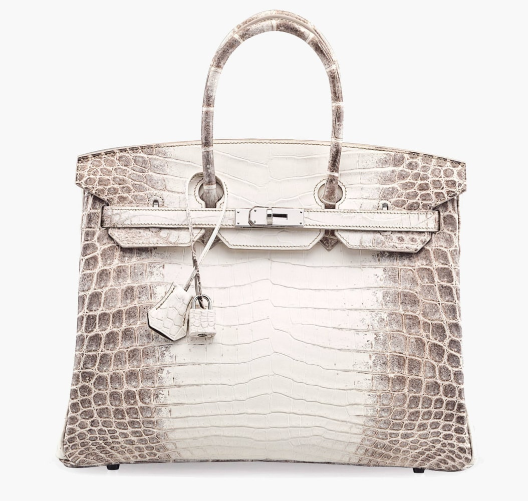 000 against a hermes handbag and