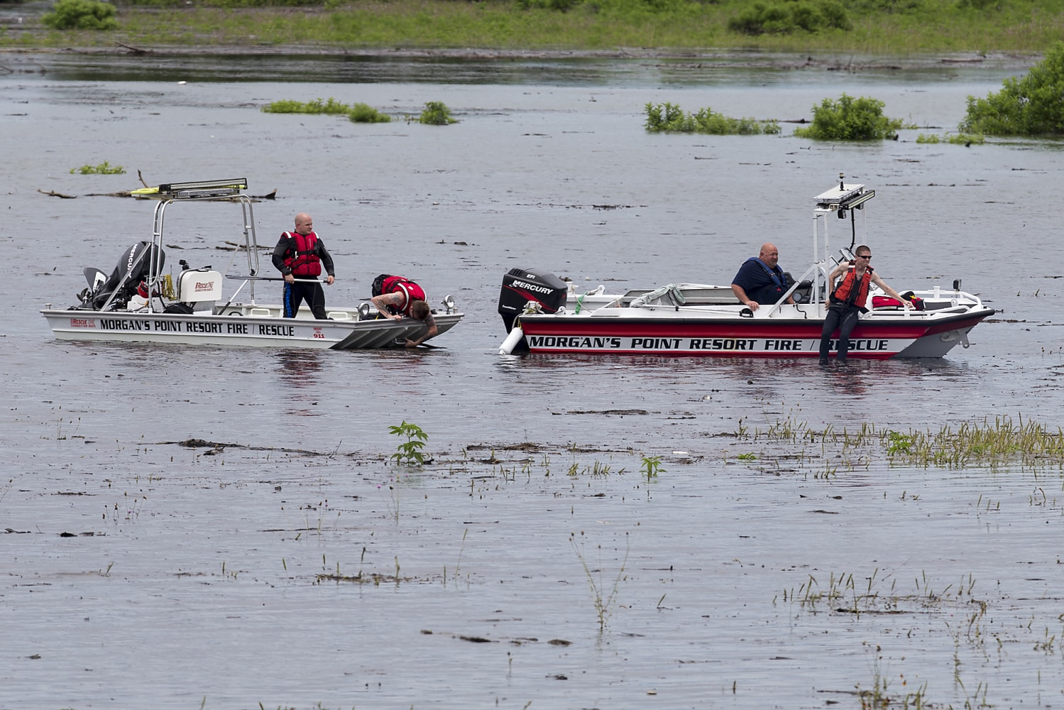 Third Texas prison evacuated because of flooding